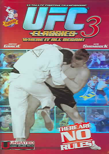 UFC CLASSICS 3 BY GRACIE,ROYCE (DVD)