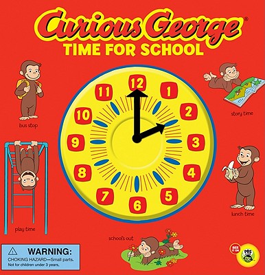 Curious George Time for School By Rey, H. A.